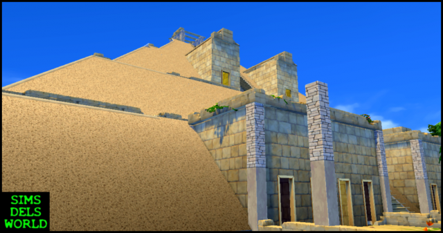 Lost World Project - Great Pyramid by SimsDelsWorld