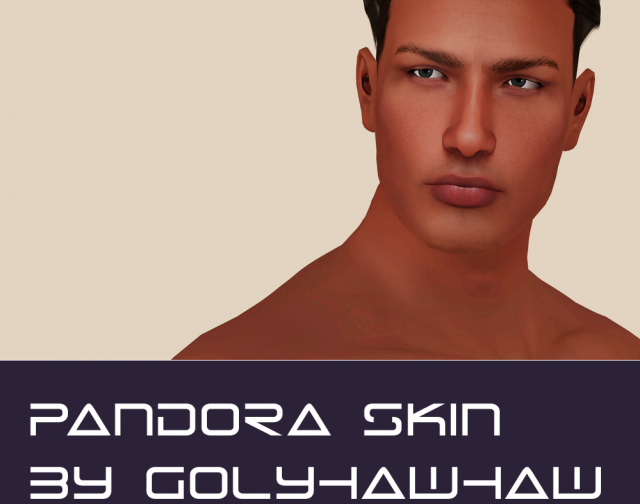 Male version of Pandora skin by Golyhawhaw