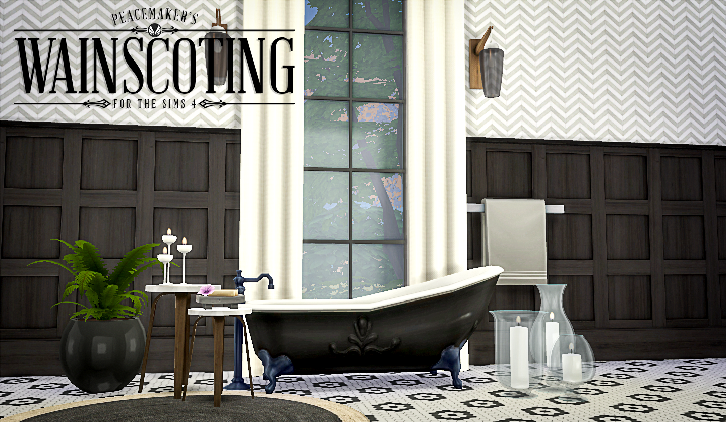 Peacemaker's Wainscotting by simsationaldesigns