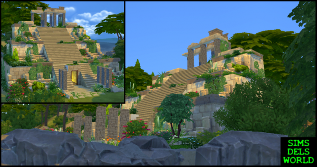 Lost World Project - Axmal Ruins 01 by SimsDelsWorld