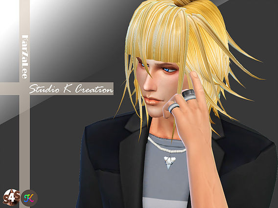 Animate hair 36 - Crona for Male and female by Studio K-Creation