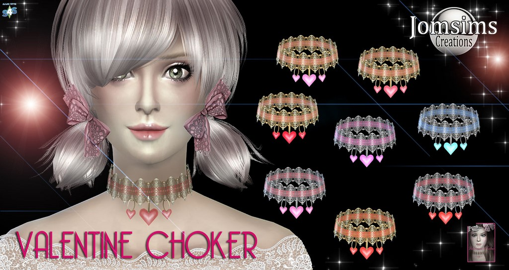 Valentine-choker by JomSims