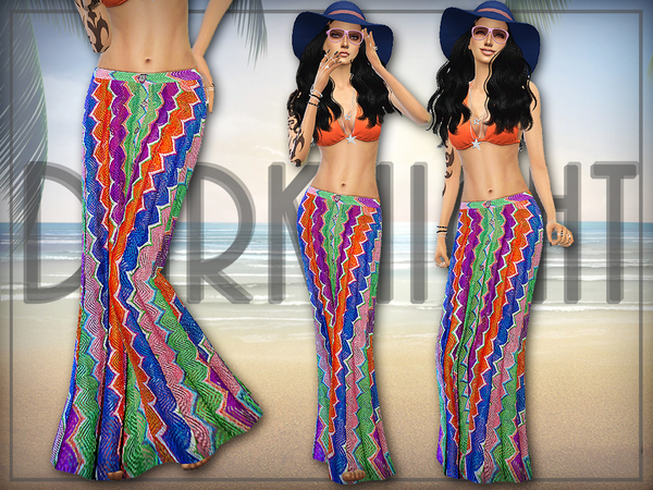 Crochet-Knit Maxi Skirt by DarkNighTt