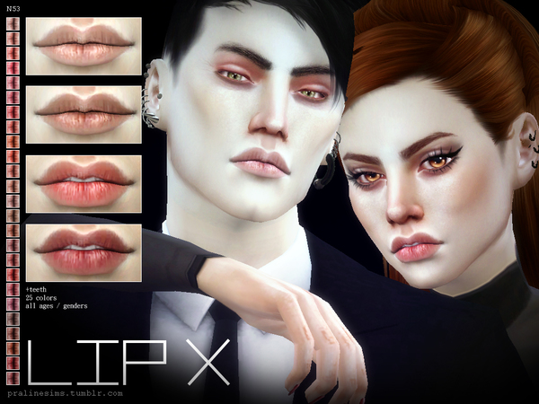 Lip X N53 by Pralinesims