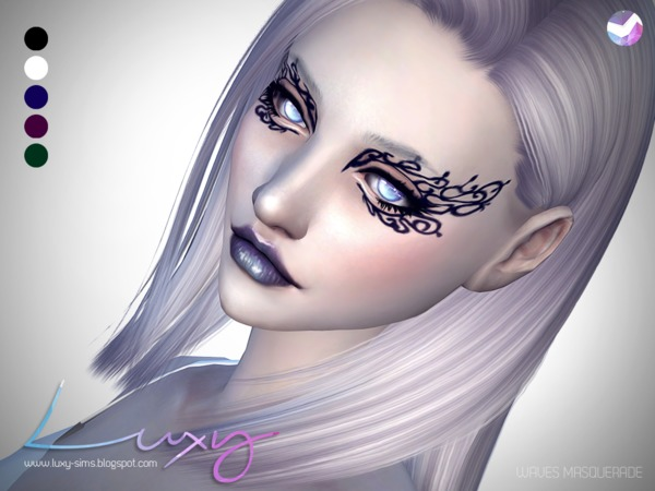 Waves Masquerade by LuxySims3