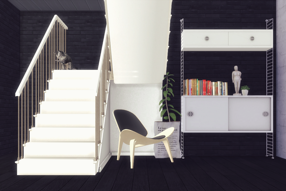TS3 Decorative EzMachinima Stairs Conversion by SanoySims