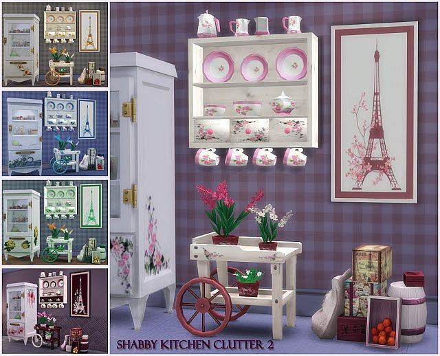 Shabby Kitchen Clutter2 by pqsim4