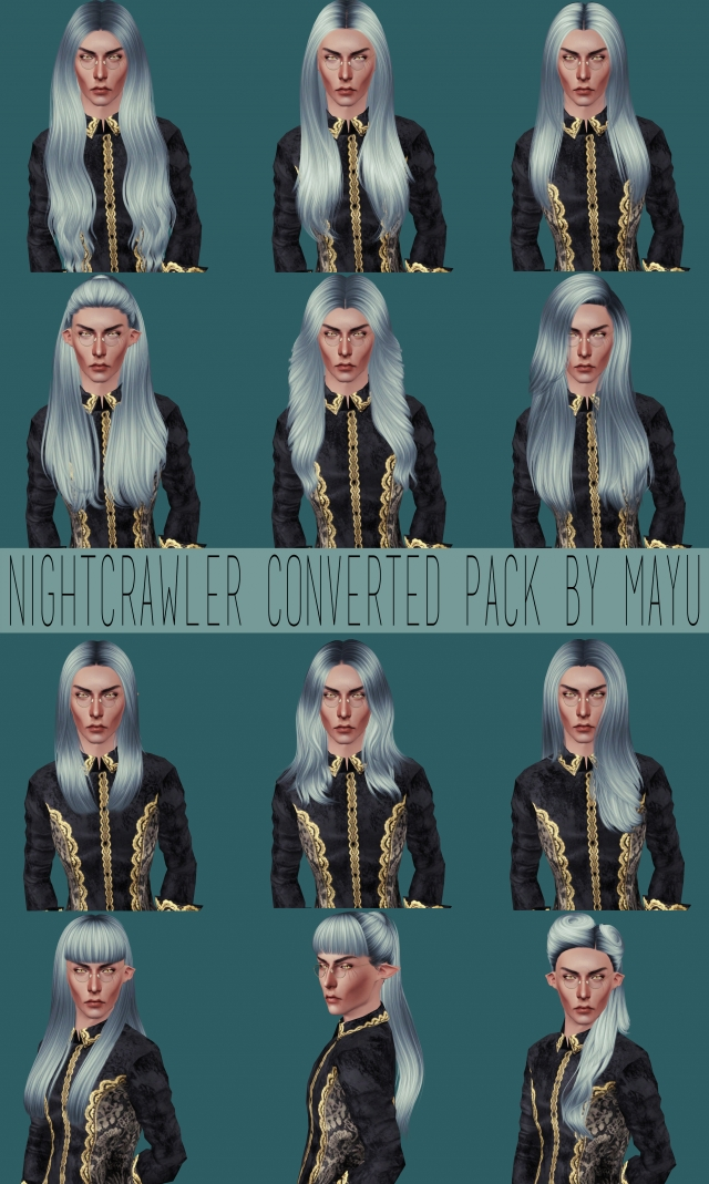 Nightcrawler Converted Pack by Mayu