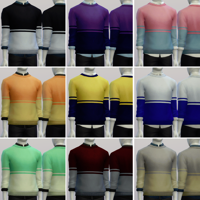 Basic Sweaters for Males by Rusty Nail