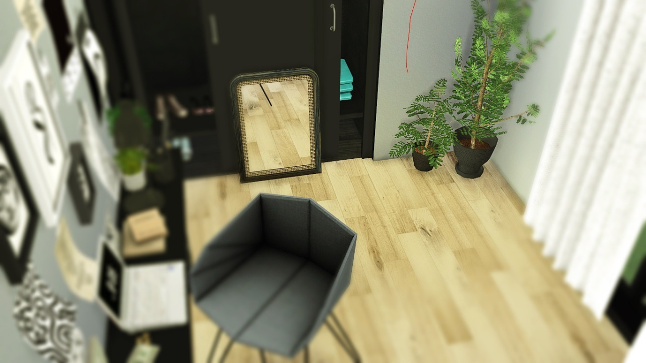 TS2 Curio Bedroom Conversion by Maximss