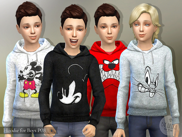 Hoodie for Boys P08 by lillka