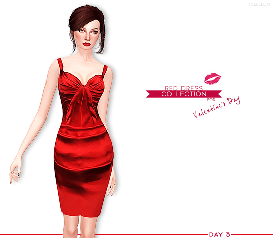 RED DRESS COLLECTION n3 by its-leelo