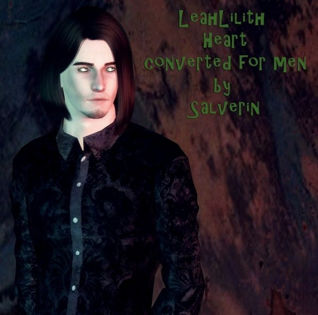 Leah Lilith Heart converted for men by Salverin
