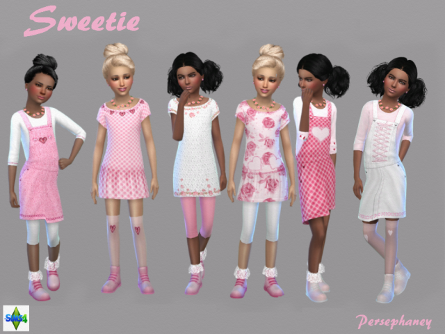 Sweetie Set by persephaney