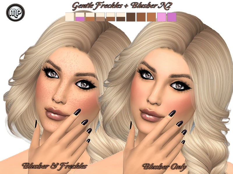 MP Gentle Freckles_Blusher N2 by MartyP