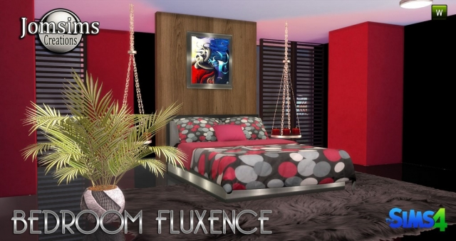 Fluxence Bedroom Set by JomSims