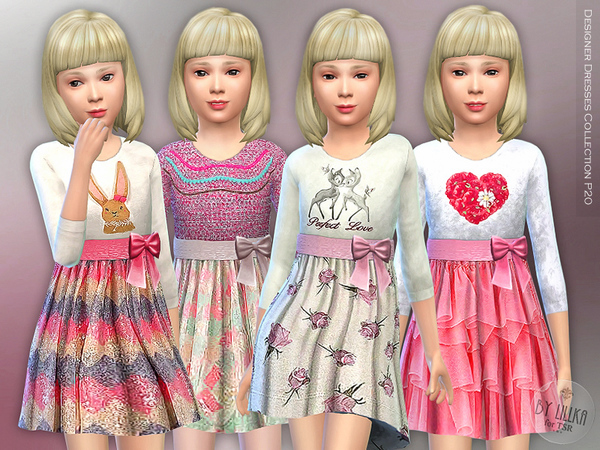 Designer Dresses Collection P20 by lillka