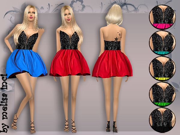 Rich Lace Cocktail Dress by melisa inci