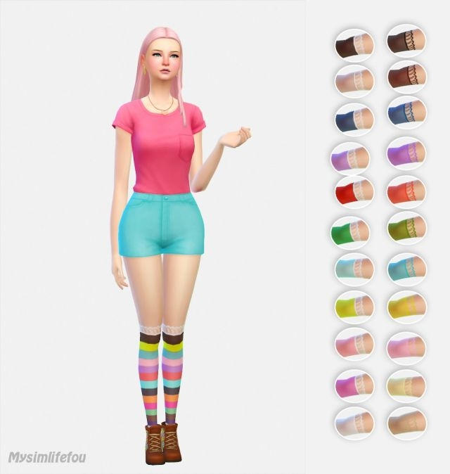 Socks for Females by Mysimlifefou