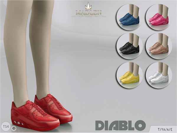 Madlen Diablo Sneakers by MJ95