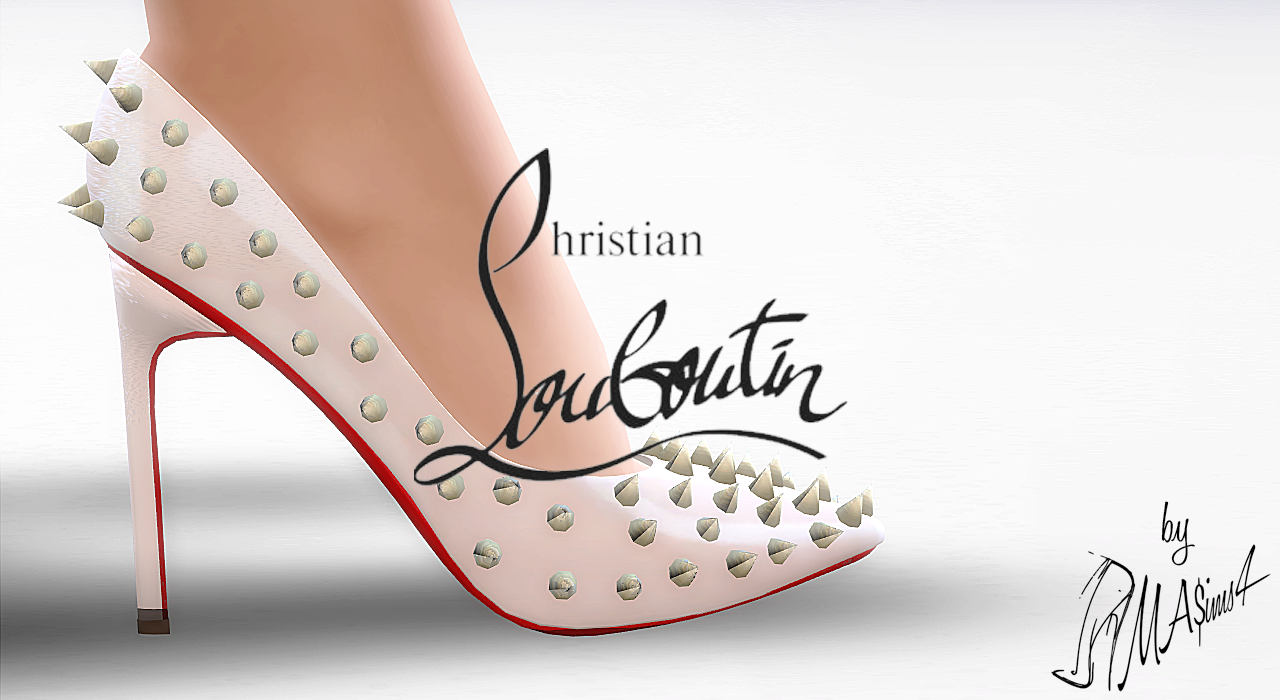 Christian Louboutin Pigalle Spikes 120mm by MrAntonieddu