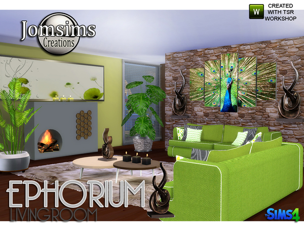 Ephorium Living Room by jomsims