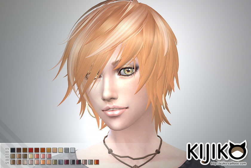 Toyger Hair for Males and Females by Kijiko