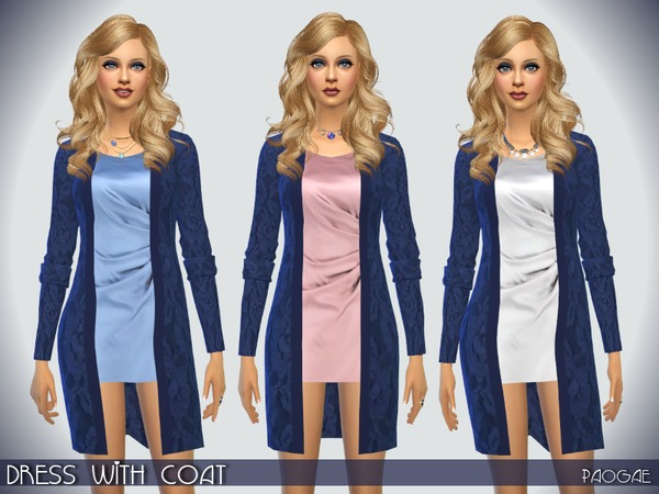 Dress with Coat by Paogae