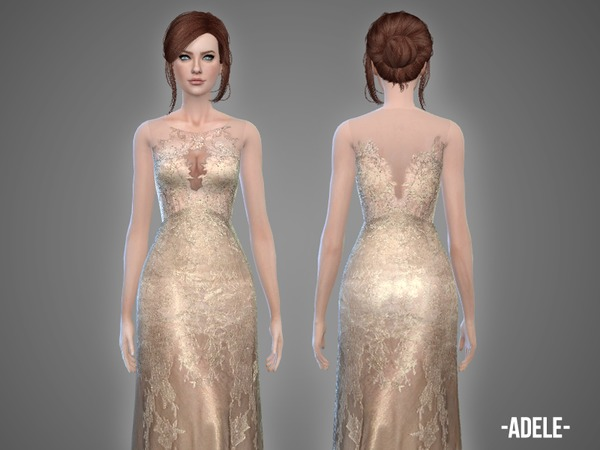 Adele - gown by -April-