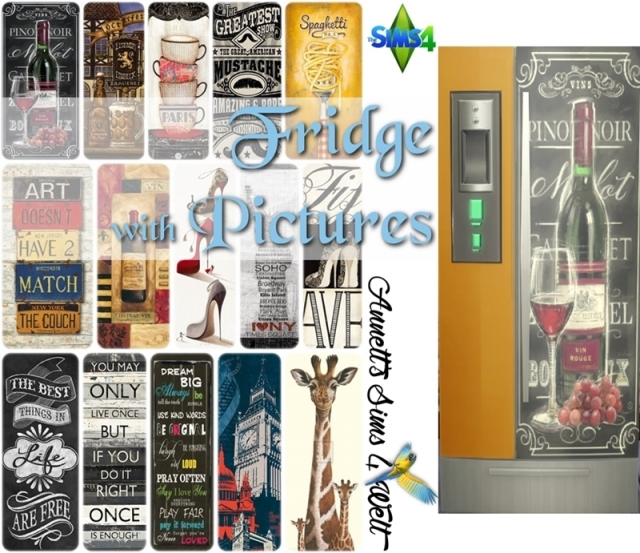 Fridge with Pictures by annett85