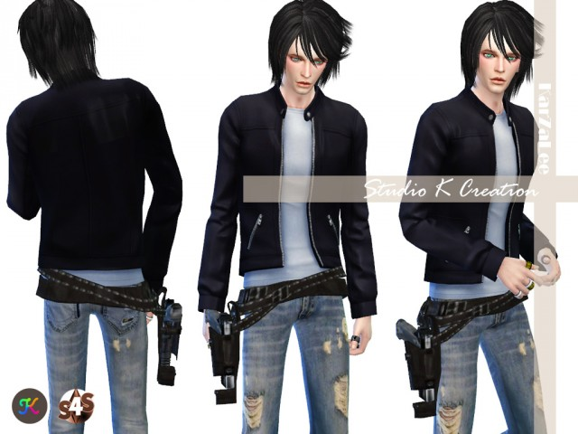 Gun belt for male and female by Karzalee