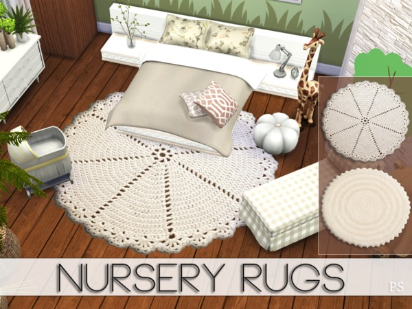 Nursery Rugs by Pralinesims