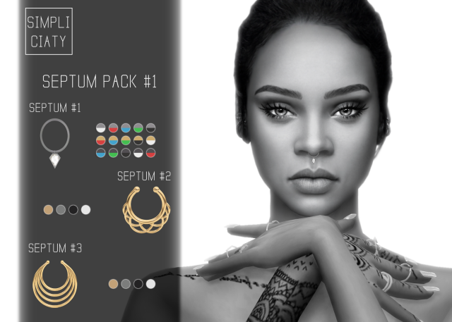 Septum Pack #1 by Simpliciaty