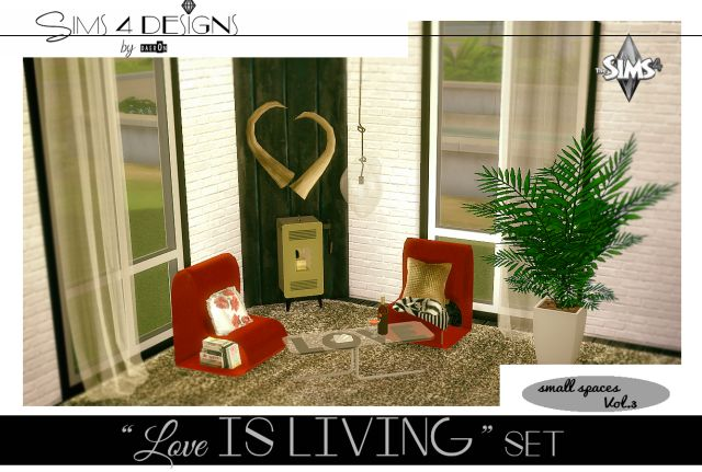 Love Is Living Valentine's Set by Daer0n