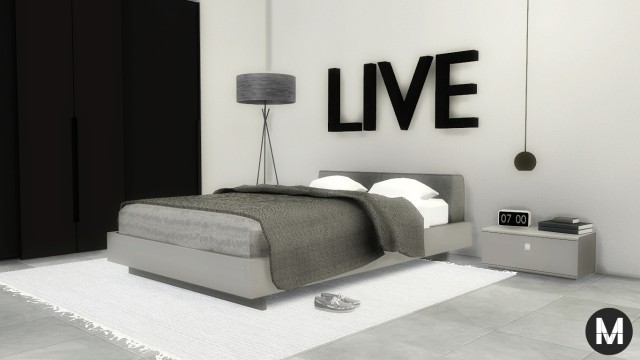 Esatto Modern Bedroom 01 by Maximss
