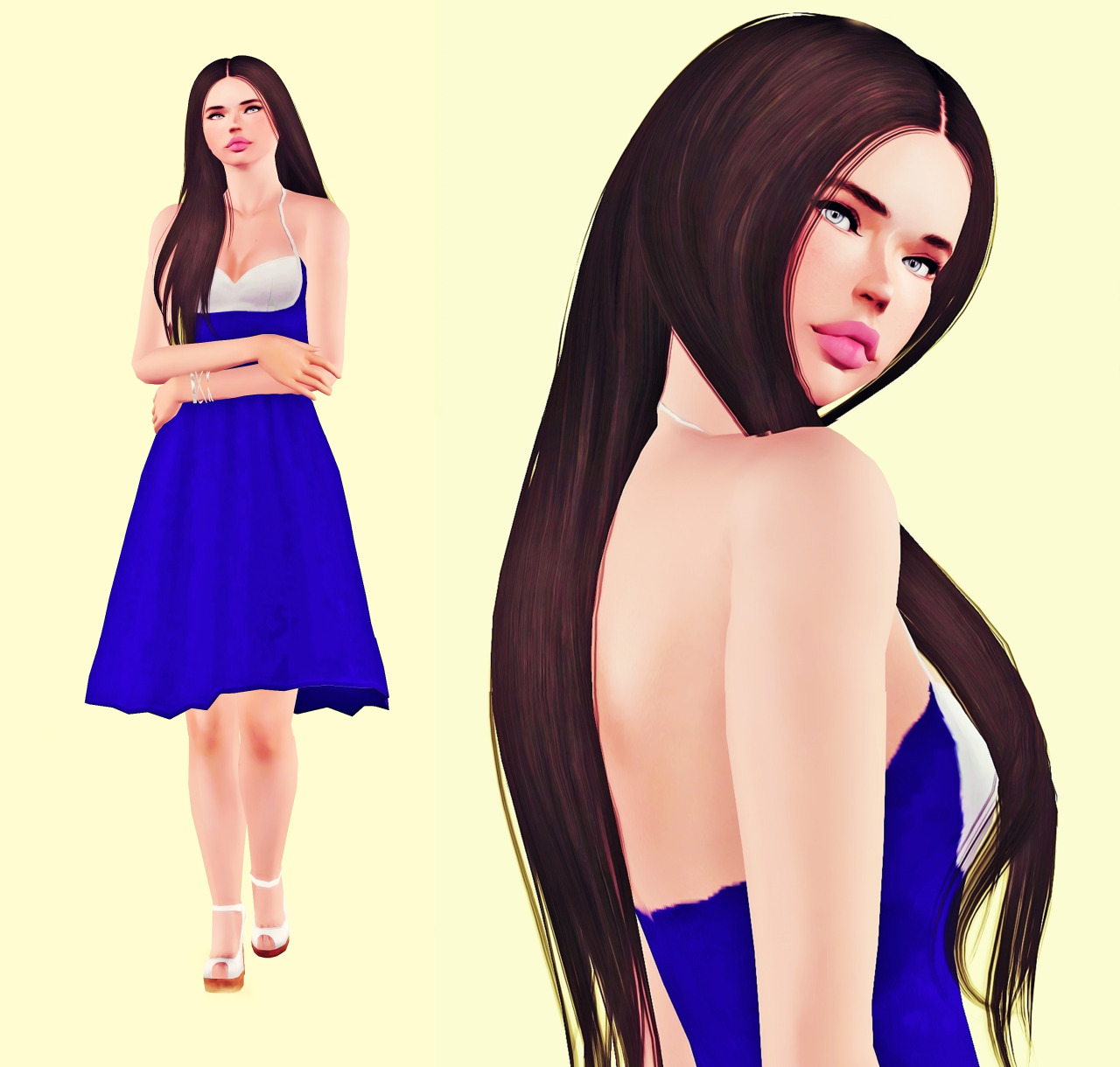 Sim Base-Followers Gift от Yannna