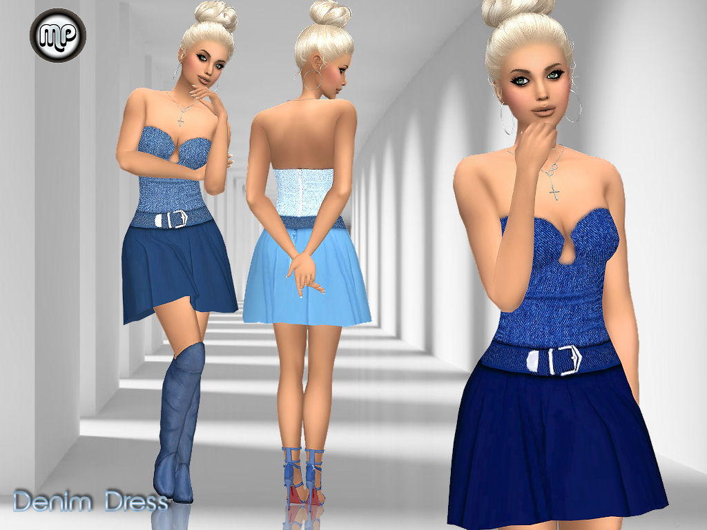 MP Denim Dress by MartyP