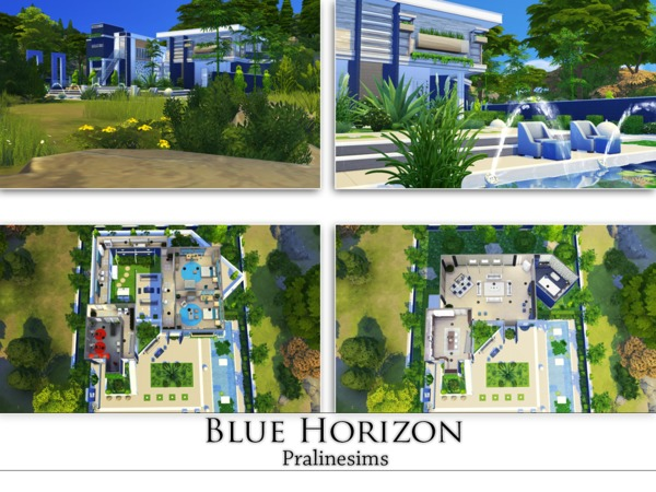 Blue Horizon by Pralinesims