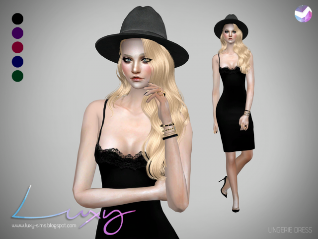 LINGERIE DRESS by Luxy