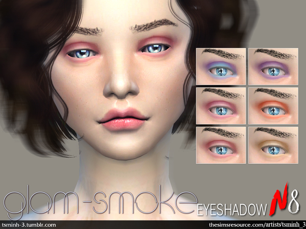 Glam-Smoke Eyeshadow by tsminh_3