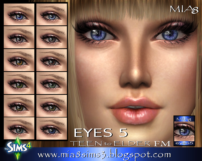 Eyes 5 by Mia8