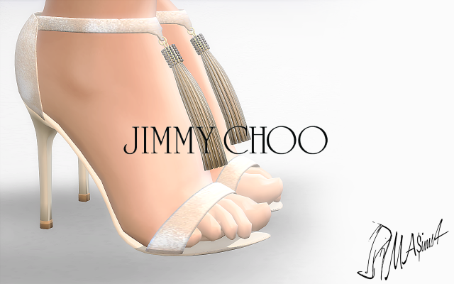Jimmy Choo Viola Sandals by MrAntonieddu