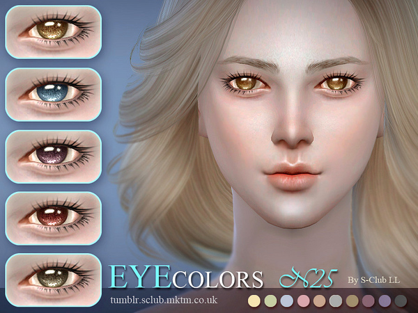 S-Club LL thesims4 Eyecolor 25