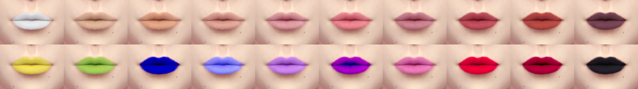 Simplest Lips by Stefizzi