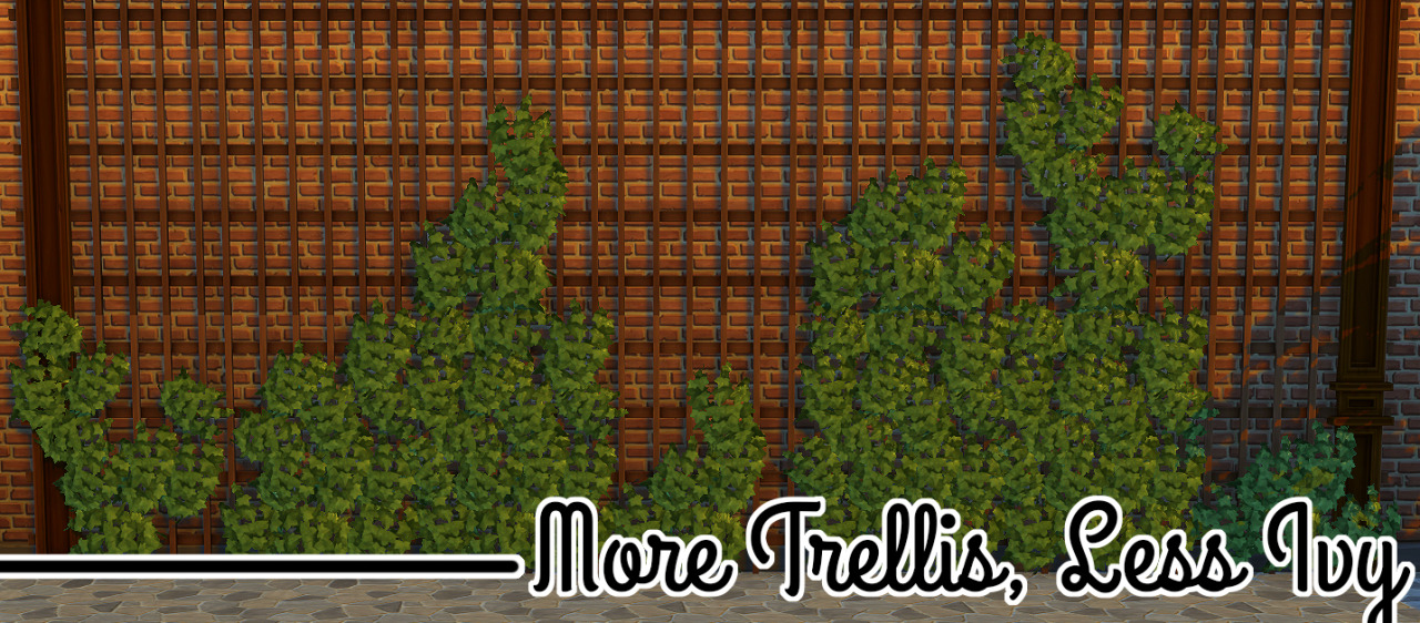 More Trellis, Less Ivy by JoolsSimming