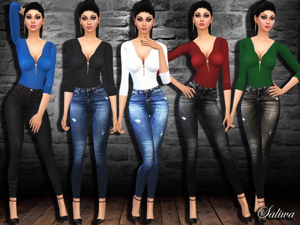 Casual Fashion Fit Outfit by Saliwa