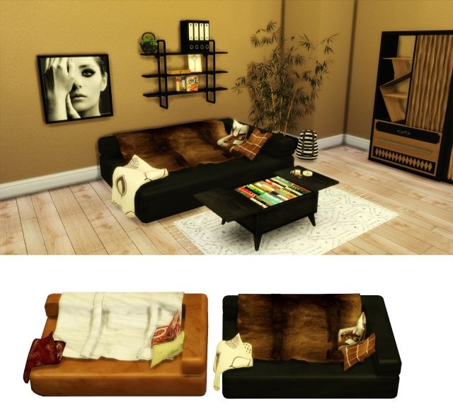 TS2 Hobo Bed Conversion by Leo-Sims