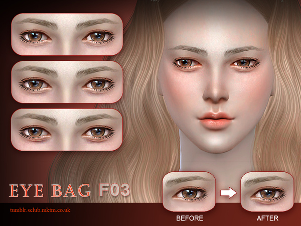 S-Club LL thesims4 Eyebag F03