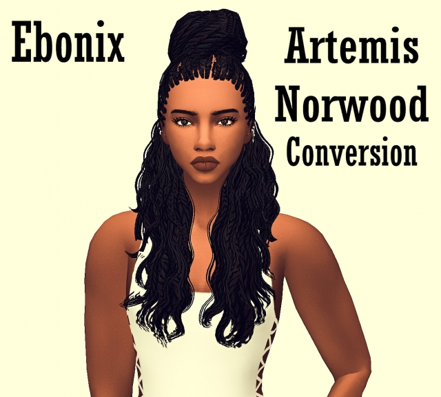 TS3 Artemis Norwood Hair Conversion by Ebonix