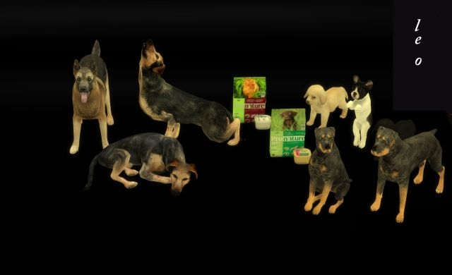 Decorative Dogs Conversions (1 часть) by Leo-Sims